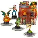 Pokemon next quest Flamethrower Dracaufeu / Charizard 4 figurines