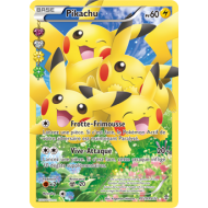Carte pokémon Ultra Rare Pikachu pv 60 Full Art RC29/RC32 générations