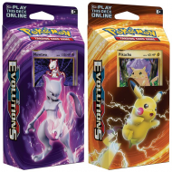 "Lot de 2 Starter Deck Pokémon XY12 Evolutions ""Pikachu + Mewtwo"" En VF"