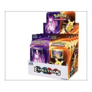 Display 8 Starter Deck XY 12 Evolutions (4 Pikachu + 4 Mewtwo)
