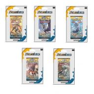 Lot de 5 boosters SL1 - Soleil Et Lune 1 - 5 Illustrations Differentes Solgaleo + Lunala + Felinferno + Archeduc + Oratoria