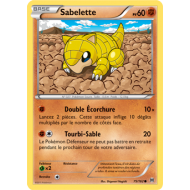 Sabelette Pv 60 Carte Commune - 75/162 - XY08