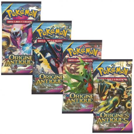 Booster XY 07 Origines Antiques