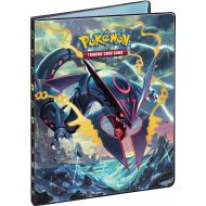 Cahier range carte format A4 - Portfolio Xy07 - Origines Antiques - Mega Rayquaza Et Primo-groudon (10 Pages De 9 Cases)