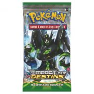 "Lot pokémon ""TURBO"" : 1 booster XY10 Impact des Destins + 1 booster XY09 Rupture Turbo + 1 Booster XY08 Impulsion Turbo"