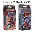 Discount Pokémon Lot de 2 starter Deck XY11 Volcanion + Hoopa : Offensive Vapeur VF Neuf