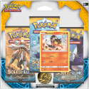Tripack 3 Boosters - XY 13 Soleil Et Lune Flamiaou 60 Pv - VF