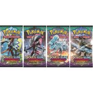 Lot Promo 4 Boosters Pokémon Differents Gardiens Ascendants SL2