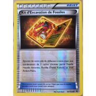 Kit d'Excavation de Fossiles Carte Reverse Peu Commune - 101/124 - XY10