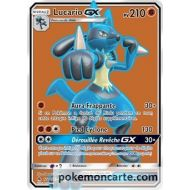 Lucario Gx pv 210 - Full ART - 122 /131 - SL06 Lumiere Interdite