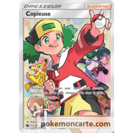 "Copieuse ""Dresseur Supporter Pokemon"" Full Art - 163/168 - SL7"