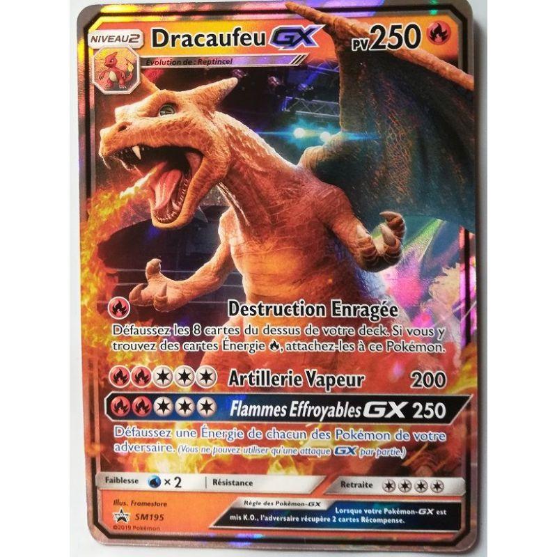 carte pokemon dracaufeu gx Carte Pokemon Dracaufeu Gx pv250 SM195 Detective Pikachu
