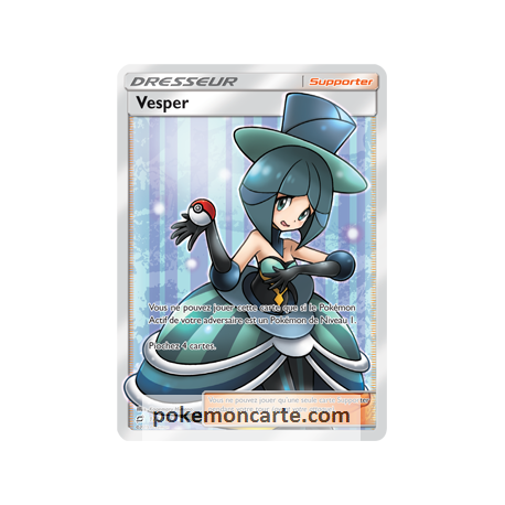 Vesper Dresseur Ultra Rare Full Art 175/181