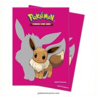 65 Protèges Cartes / Protect Sleeve Evoli-Eevee 2019