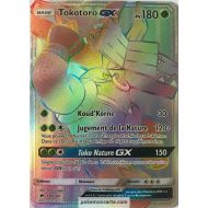 Carte Pokemon Tokotoro GX Pv 180 149/147 Full Art Secrete Arc en Ciel