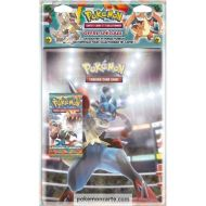 Pack Portfolio A4 Lucario + 1 Booster XY Poings Furieux