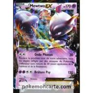 carte Pokémon 61/162 Mewtwo EX 170 PV XY - Impulsion Turbo