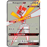 Katagami GX Carte Full Art Ultra-Chimère 170 Pv - SL4 - 106/111
