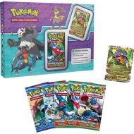 Coffret pokemon JOUEPOK04 noel 2014 special Carchacrok ex pv170 xy09 + 3 booster XY 03 Poings Furieux + 2 Booster XY