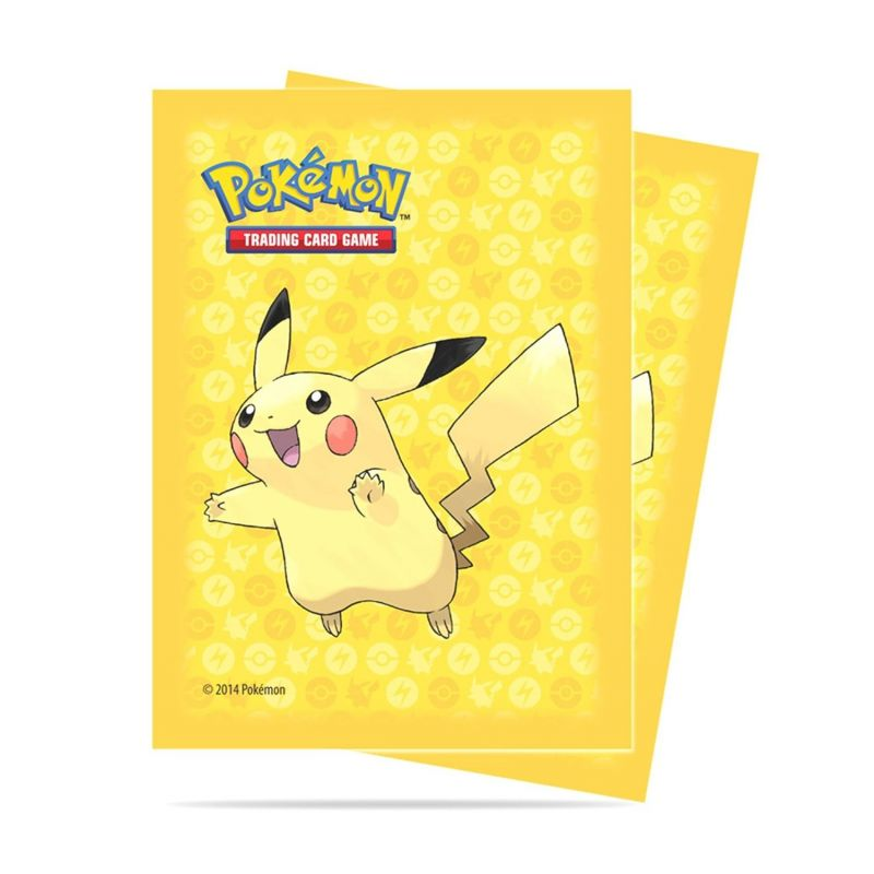 ultra pro accessoire protege carte pokemon jaune pikachu. Black Bedroom Furniture Sets. Home Design Ideas